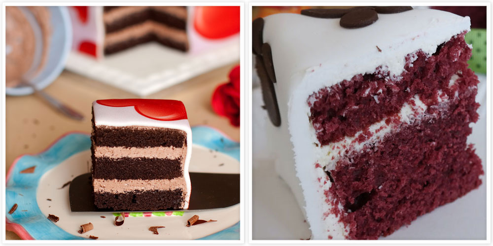 Chocolate & Red Velvet Cake