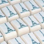 Eiffel Tower Mini Logo Cakes