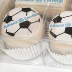 Allianz Mini Logo Cakes