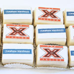 Carphone Warehouse Mini Logo Cakes
