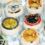 Watch Face Mini Logo Cakes