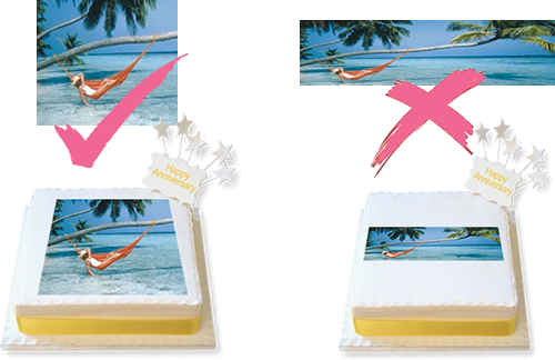Tips for Photo Cakes