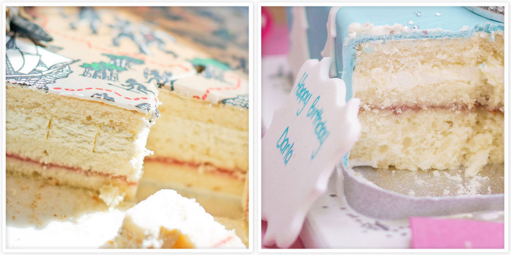 Vanilla Sponge Cake Filling