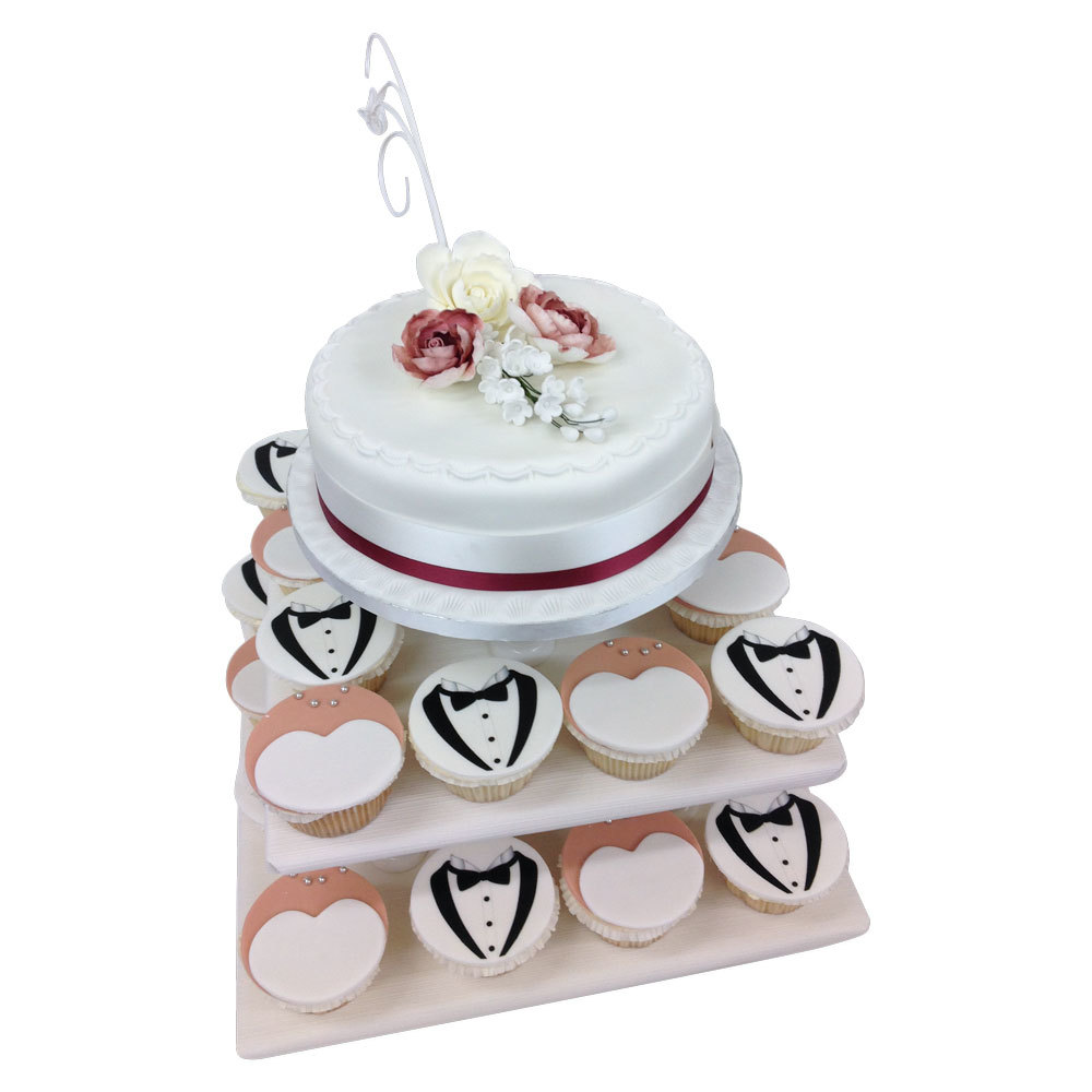 A Wedding Cake Delivered to Your Door - The Brilliant Bakers